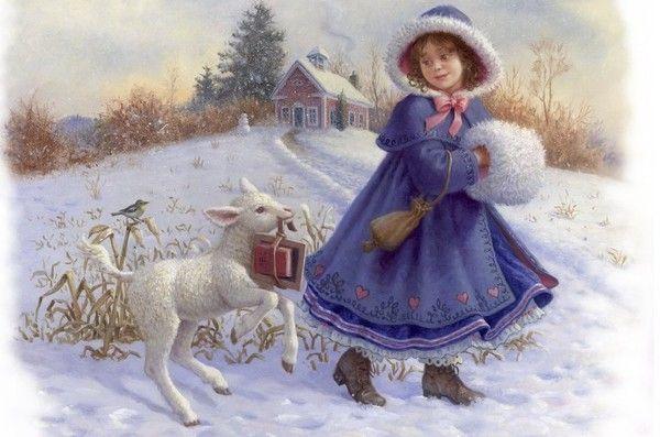 Petite fille au manchon
