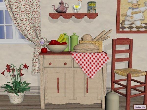 tablier de cuisine en point de croix le monde creatif. Black Bedroom Furniture Sets. Home Design Ideas